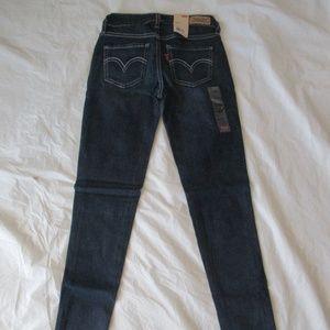 Levi's 535 Jeans 119970035 Legging Blue I5107